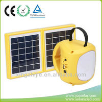 Multi-function new rechargeable solar lantern with radio and mp3 supplier,exporter