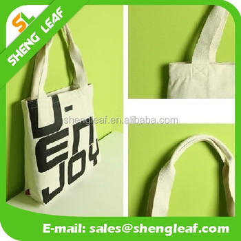 Promotional Colorful canvas tote bag for shopping