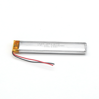 Trade Assurance Soft Pack Battery 3.7V Polymer Battery 651475 Battery