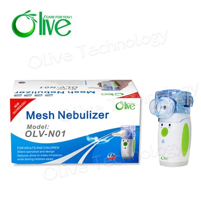 Free sample Portable ultrasonic nebulizer with battery