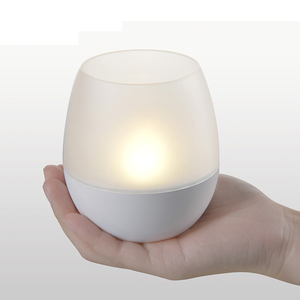 1.7W USB Rechargeable Battery Decorative Cordless LED Candle Light Bedroom Hotel Bar Restaurant Table Lamp