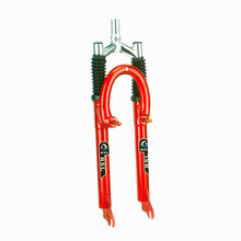 Steel and Colorful Bicycle Suspension Front Fork
