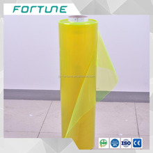 Yellow transparent PVC Stretch film and Cling film