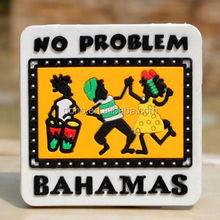 TOURIST SOUVENIR Rubber BAHAMAS FRIDGE MAGNET Full Colors souvenir 3d soft pvc fridge magnet ----DH20468