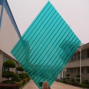 Charming Outdoor Twin Wall Polycarbonate Sheets Plastic Roof Gazebos Makrolon Roof  Panels
