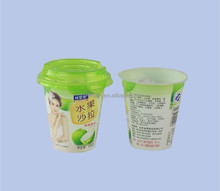 In mold labeling plastic Salad cup