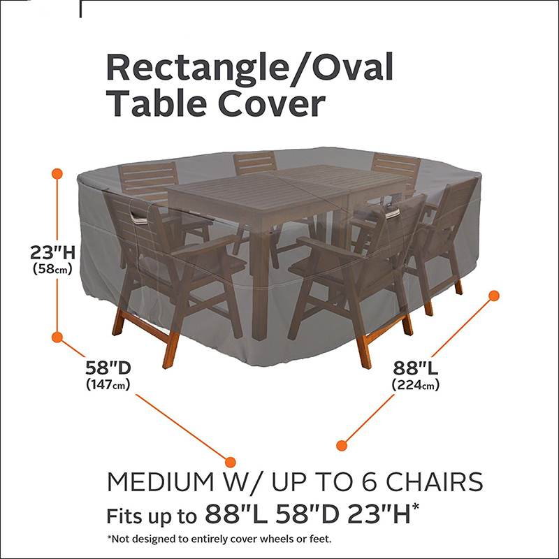 Waterproof Outside Patio Table and Chairs Covers For Sale