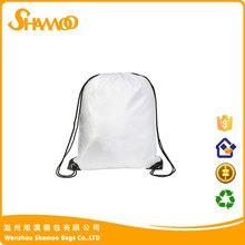 cheap polyester drawstring trash bag