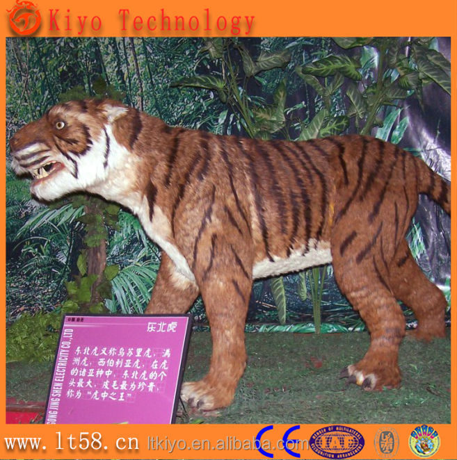 life size lion bear tiger animal statues