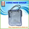 2017 Best Transparent Clear OEM Custom PVC Plastic Travel Hand Bag