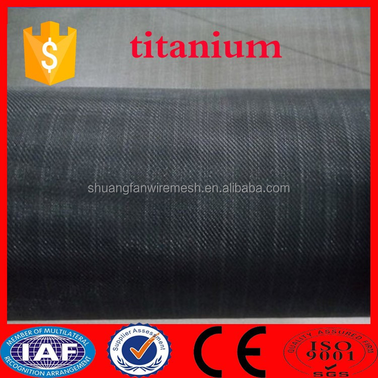 Alibaba China battery titanium weave wire mesh/dental titanium mesh