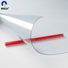 Packaging Film Clear PVC Flexible Plastic Sheet In Roll