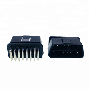 J1962 16 PIN OBDII OBD OBD 2 Right Angled Male Connector