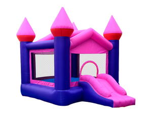 JMQ-B3013 Small playground inflatable slide.inflatable playground obstacle course inflatable bouncing castle