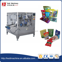 GD6-250C Rotary Given Bag 304 Stainless Steel Packaging Machine for sweets