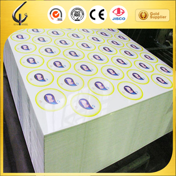 Color printed Prime quality 0.25mm electrolytic Tinplate sheet