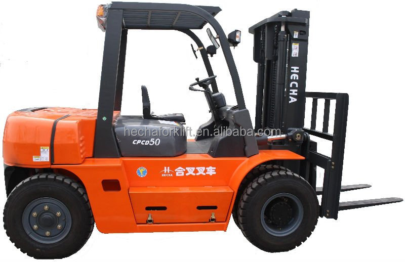 HCF Brand 5 ton Diesel Forklift with China Best Engine