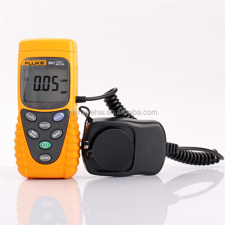 Fluke 941 Handheld Lux Meter illuminance Meter Digital