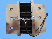 high current DC shunt resistor for electric cars