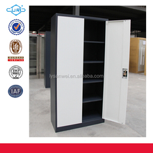 Office furniture 2 door 4 shelves metal file cabinet