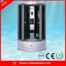 high quality tempered glass enclosed steam shower room damaged bathroom furniture for sale