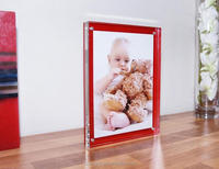 popular square acrylic digital photo frame