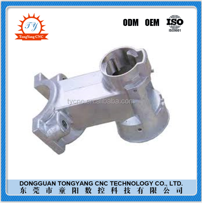 Large Capabilities Strict Standards Manufacturing Aluminum Die Casting Parts with CNC Machining