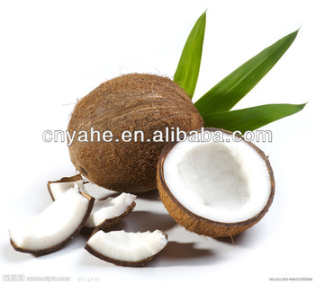 Coconut oil flavour for beverage