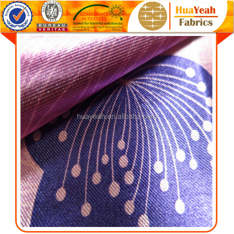 Polyester imported blackout digital printing curtain fabric philippines