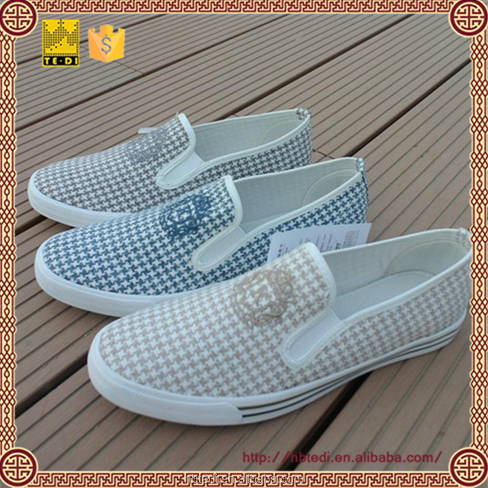 2009 Men's canvas shoes weaving pattern