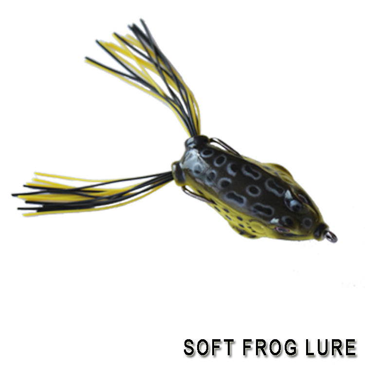 2017 hot sale new soft fishing lure live frogs