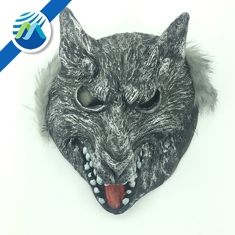 Hot Sale Wholesale Halloween Carnival Wolf Dog Horror Latex Mask