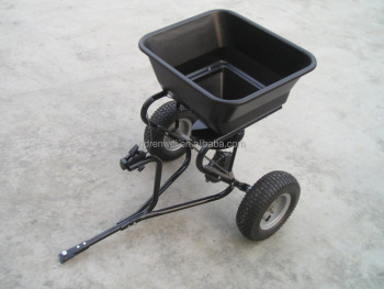 Garden Manual Broadcast Fertilizer Spreader with good quality from china
