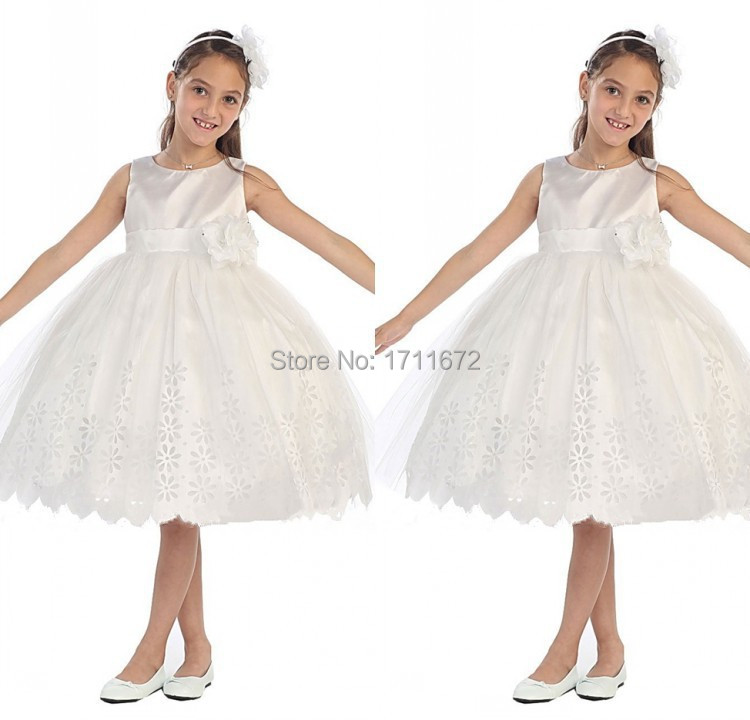 Buy Girls Communion Dress For Wedding Vestido Daminha Casamento