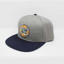 custom embroidery logo cotton twill snapback cap snapback hat