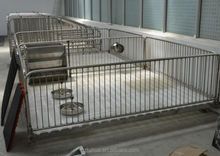 high quality stainless steel pig feeder /nursery bed/pig fattening pen