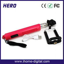 Professional selfie stick monopod z07-5 selfie stick Zoom for ios and android phone and digital camera Shenzhen