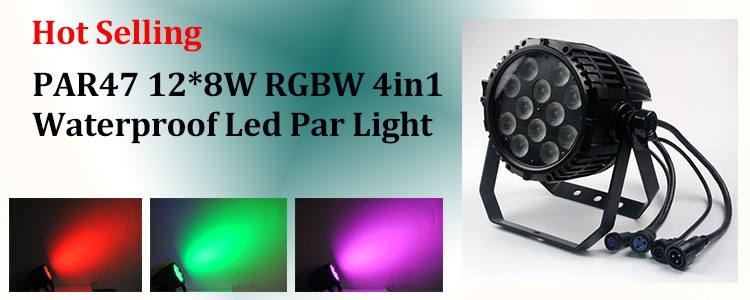 Hot Light Razor P7 led par 64 RGBWY 5 in 1 IP65 high power super slim 7*25W high power aluminum flat par can light