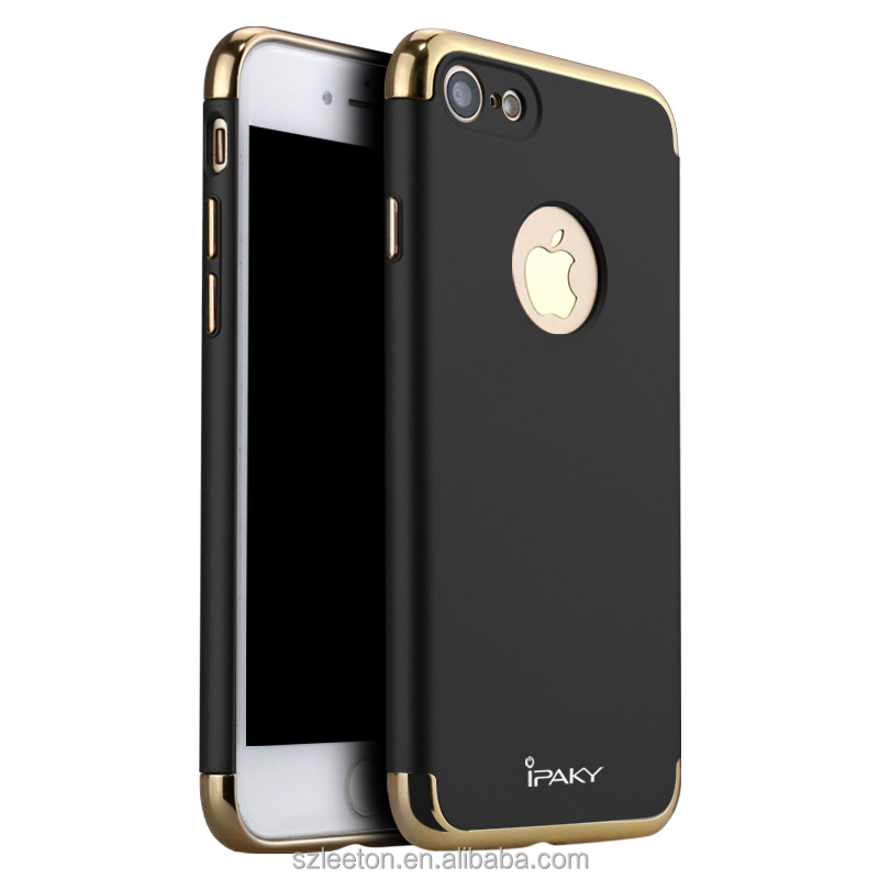 Manufacturer Supplier free sample mobile phone case Three in one Cover for iPhone 7/7 plus