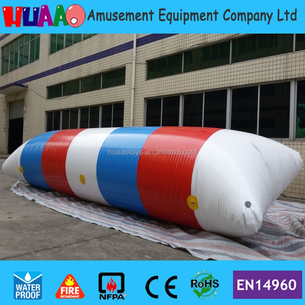 Free shipping 7x2m inflatable water blob jump for sale