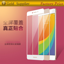 2.5D 9H hardress full color Tempered glass screen protector for tecno R7,for tecno R7 tempered glass