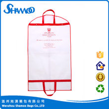 Professional foldable garment bag non woven suit cover