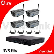 New products 1080P/720P video recording 8CH DVR kits/2MP wireless ip camera system