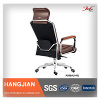 HANGJIAN A088A high back ergonomic leather executive chair with lumbar support