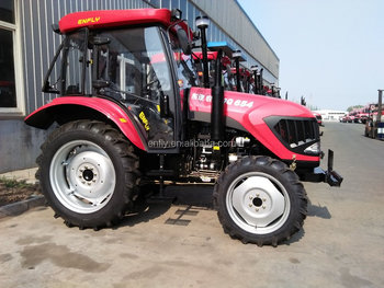farm tractor DQ654 65hp 4WD with A/C air conditioner cabin