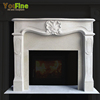 Indoor Cheep French Heritage Sandstone Fireplace Mantel