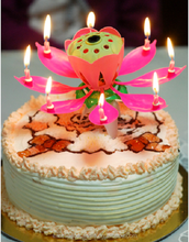happy music birthday candle miti-colors for child