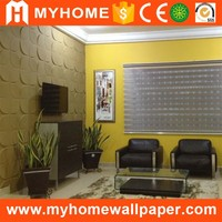Wall coating type colorful 3d wall mural/ 3d wall panels