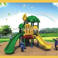 Adventure Playground Outdoor Plastic Slide Cover Roof