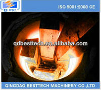 500kg steel billet melting furnace, copper rod melting furnace, aluminum ingot melting furnace